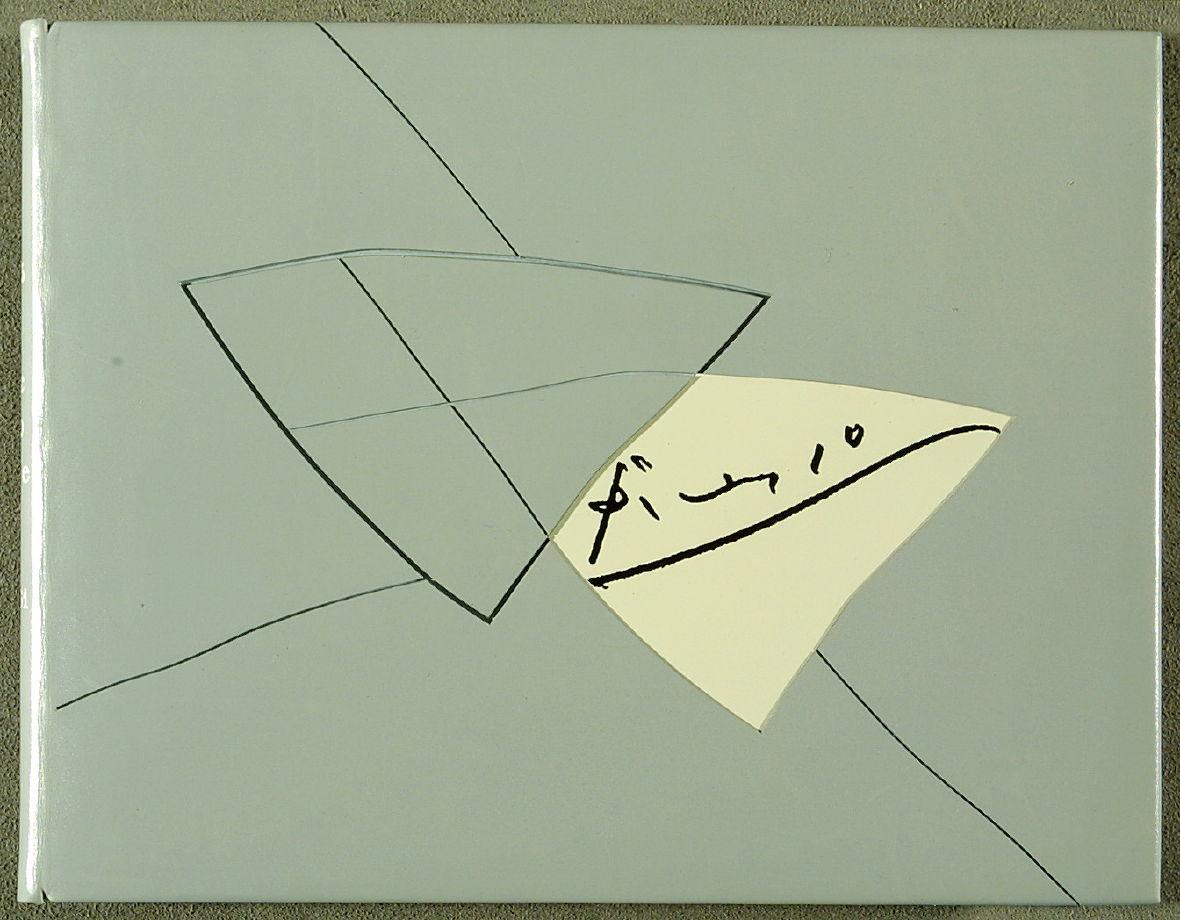 Leroux (1989).25 Octobre 1961 by René Char, Jean Hugo, Michel Leiris, Joan Miró, PAB, Jaqueline Picasso, Tristan Tzara (Alés: PAB [Pierre André Benoit], 1961)