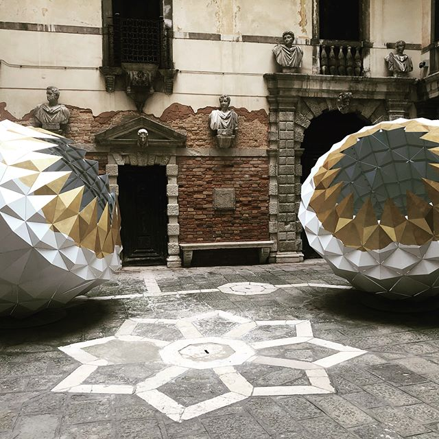 """For your eyes, highlights from the 2019 Venice Art Biennale with artists interpreting the curse/theme """"May you live in interesting times"""" here representing Iran, China, Japan and India.#venice #venicebiennale #contemporaryart"""