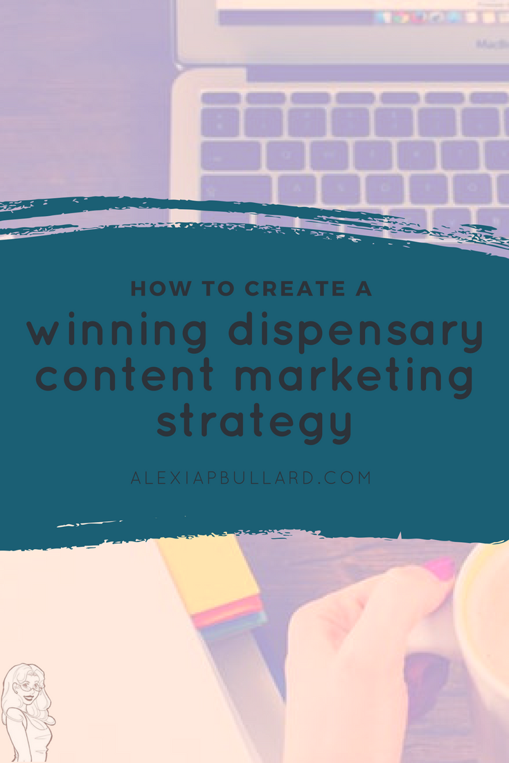 12 Keys to a Winning Dispensary Content Marketing Strategy || Tacoma Business Writer|| Booklexia Content Marketing