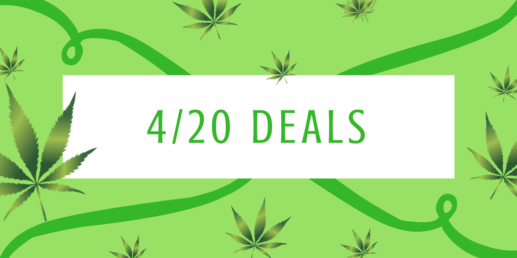 This year's 4/20 is going to be super lit! Don't miss out on all the Washington 4/20 deals going on.