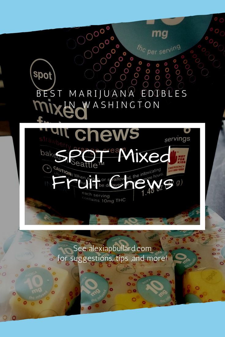 SPOT Baked in Seattle Mixed Fruit Chews are definitely some of the best edibles in Washington. These juicy favorites are available at World of Weed in Tacoma
