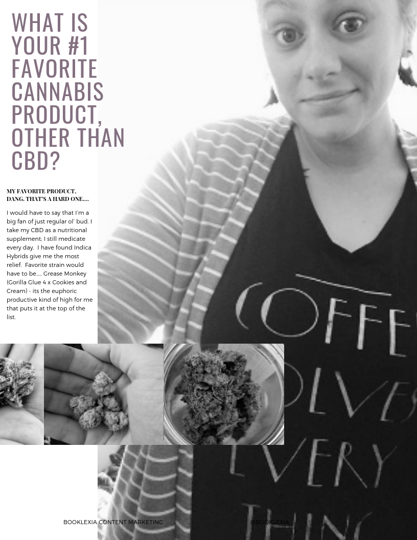 Women in Weed: Emily M   Booklexia Content Marketing, cannabis content marketing