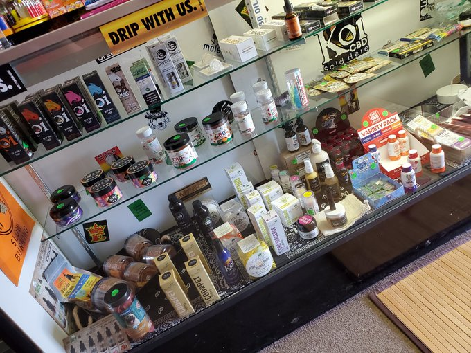 Top Shelf Gift Shop in Escondido, CA has a wide variety of quality CBD products, with a knowledgeable staff of people able to help you find the best product for your needs.