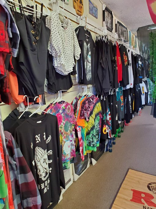 From clothing to glass, Top Shelf Gift Shop seems to have it all.