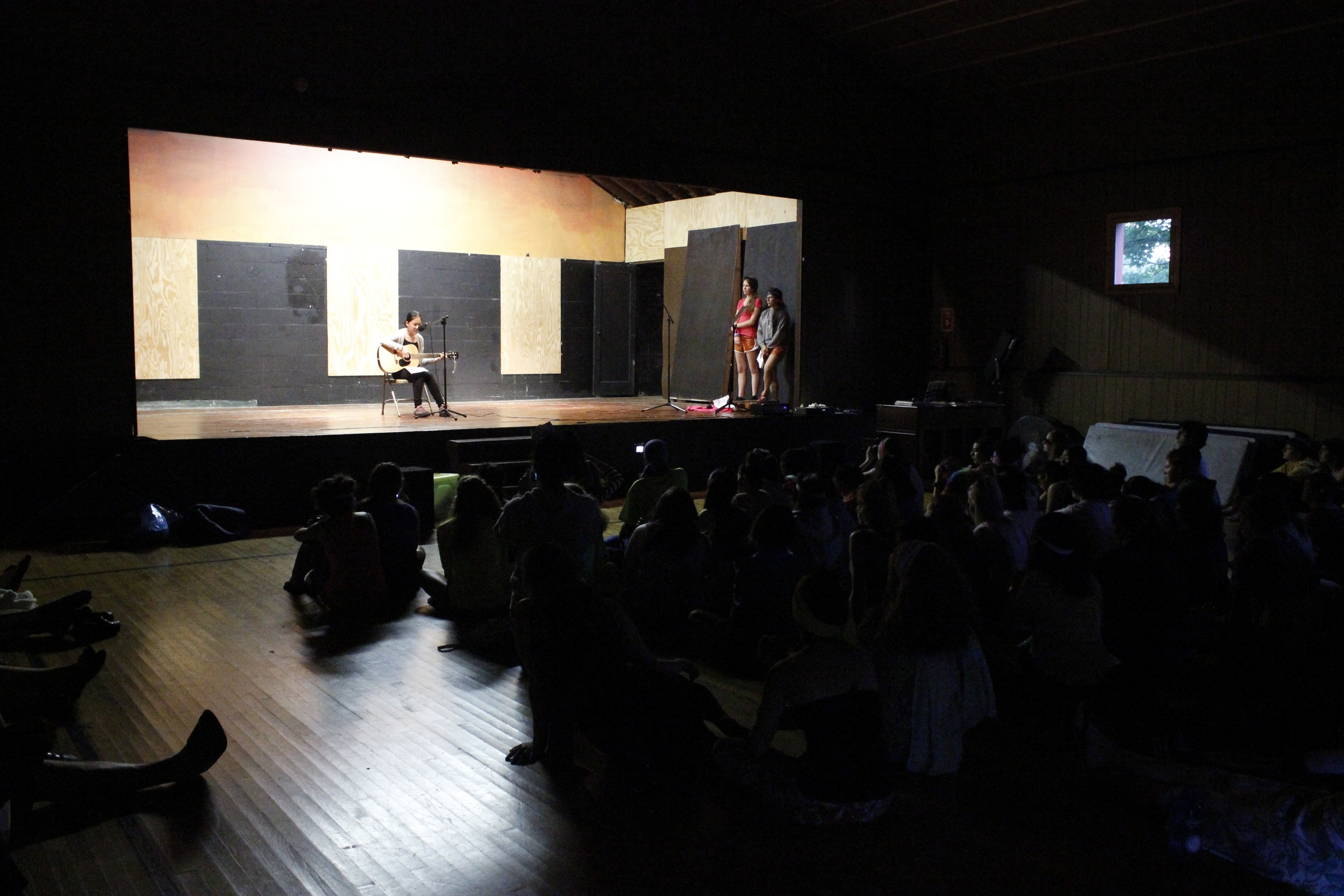 Every week, campers have the chance to showcase their talents and abilities in a camper-produced show.