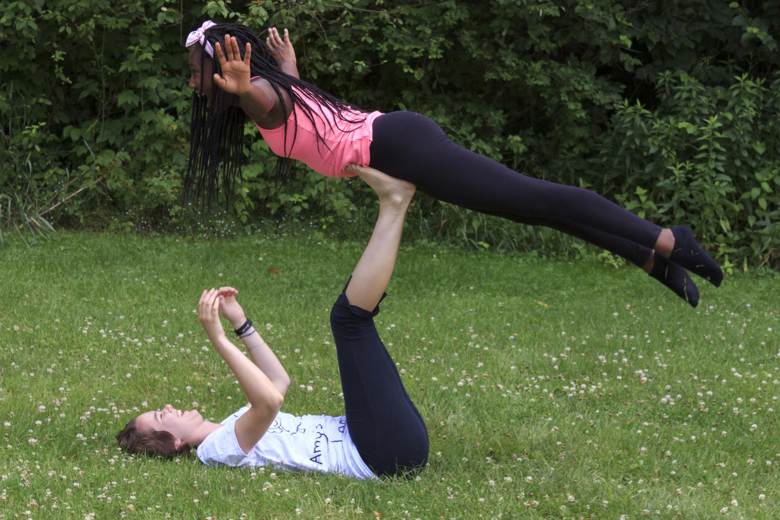Acro-Yoga!