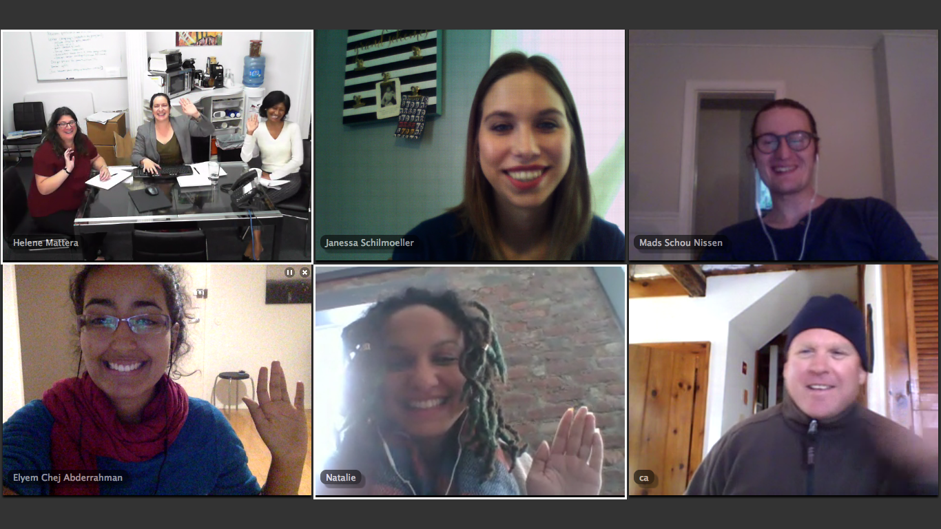 The LAJF team in a Staff Meeting