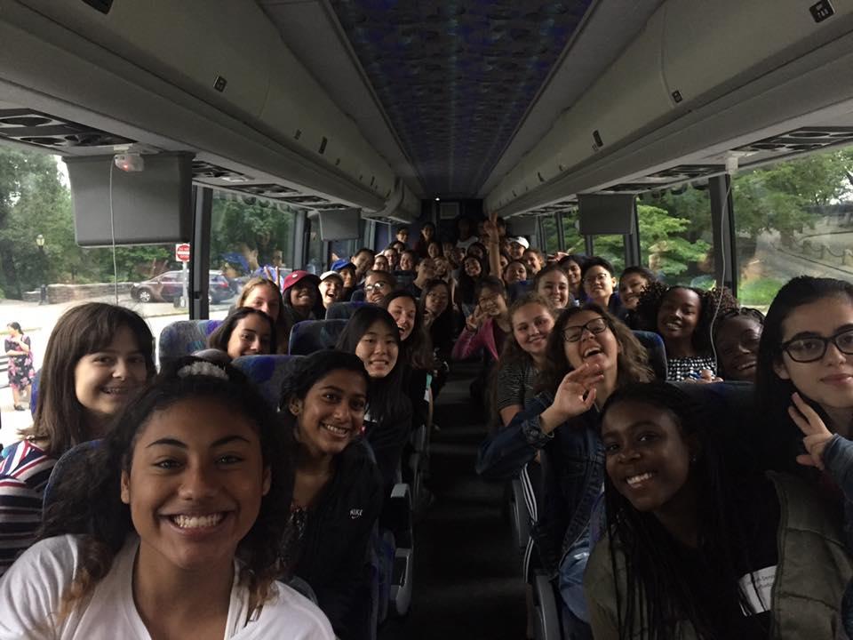 Girls Boarding the bus - first day.jpg