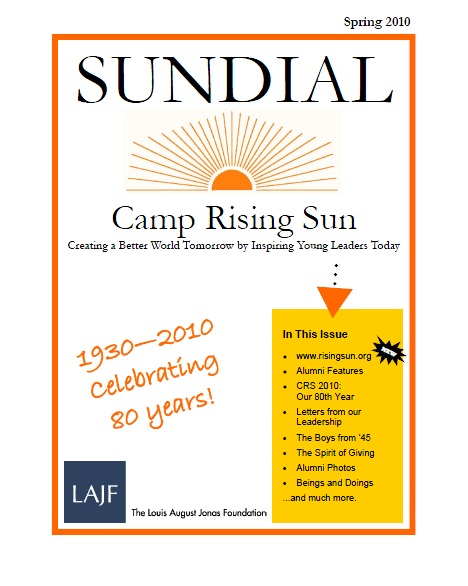 Sundial 2010 -