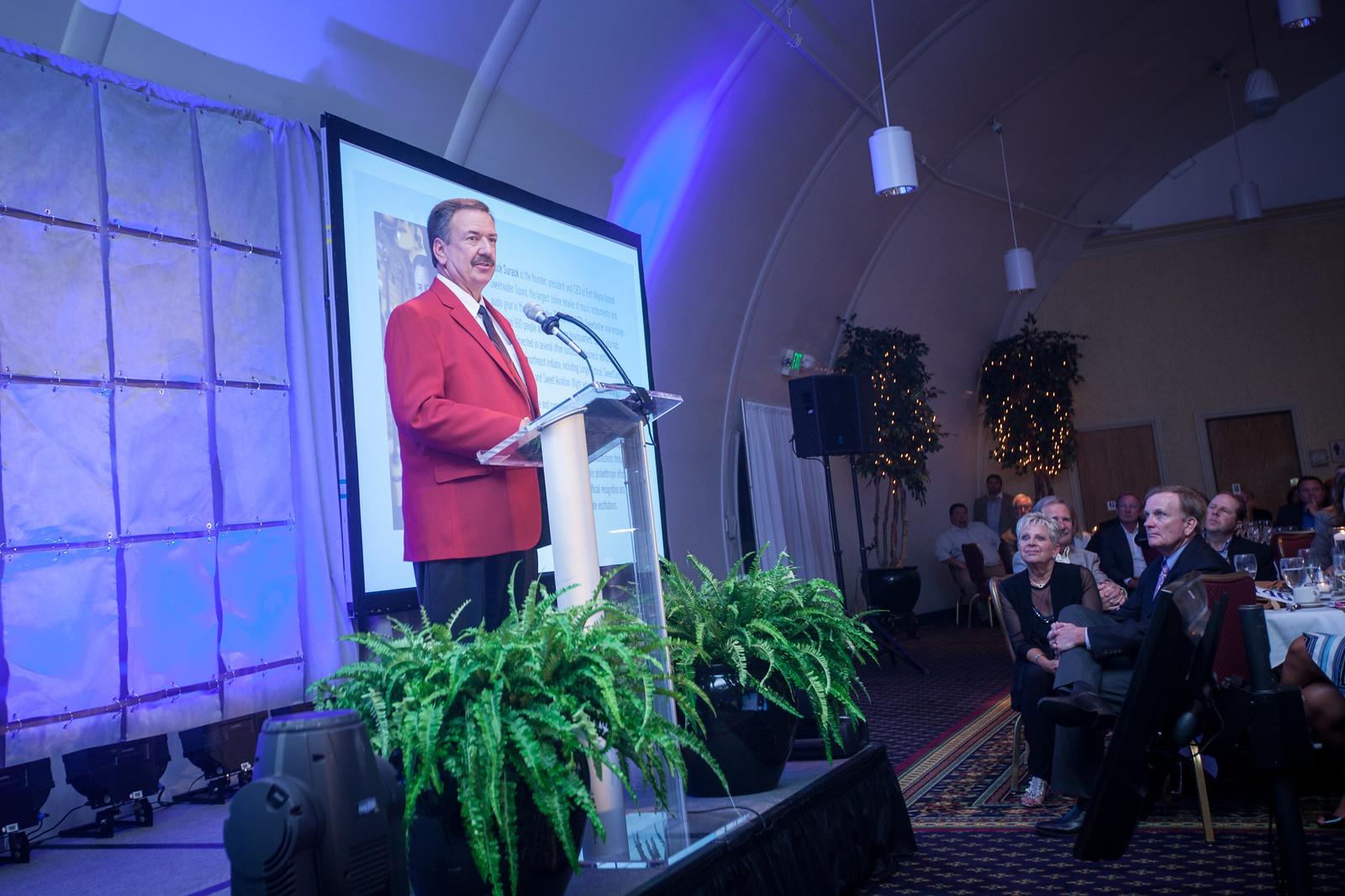 Chuck Surack, winner of this year's Red Coat.