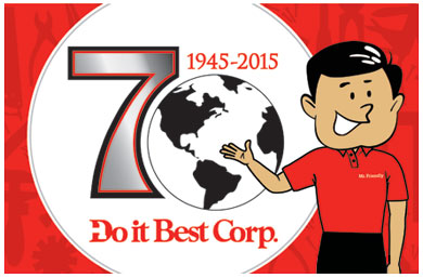 This year marks Do it Best Corp.'s 70th anniversary.