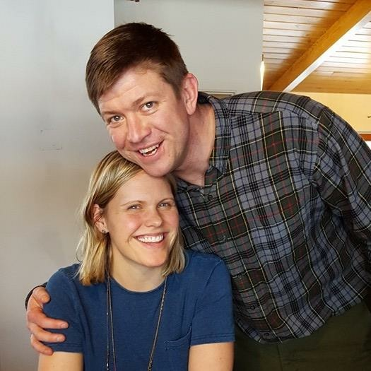Pastor Jeremiah & his wife, Lindsay.