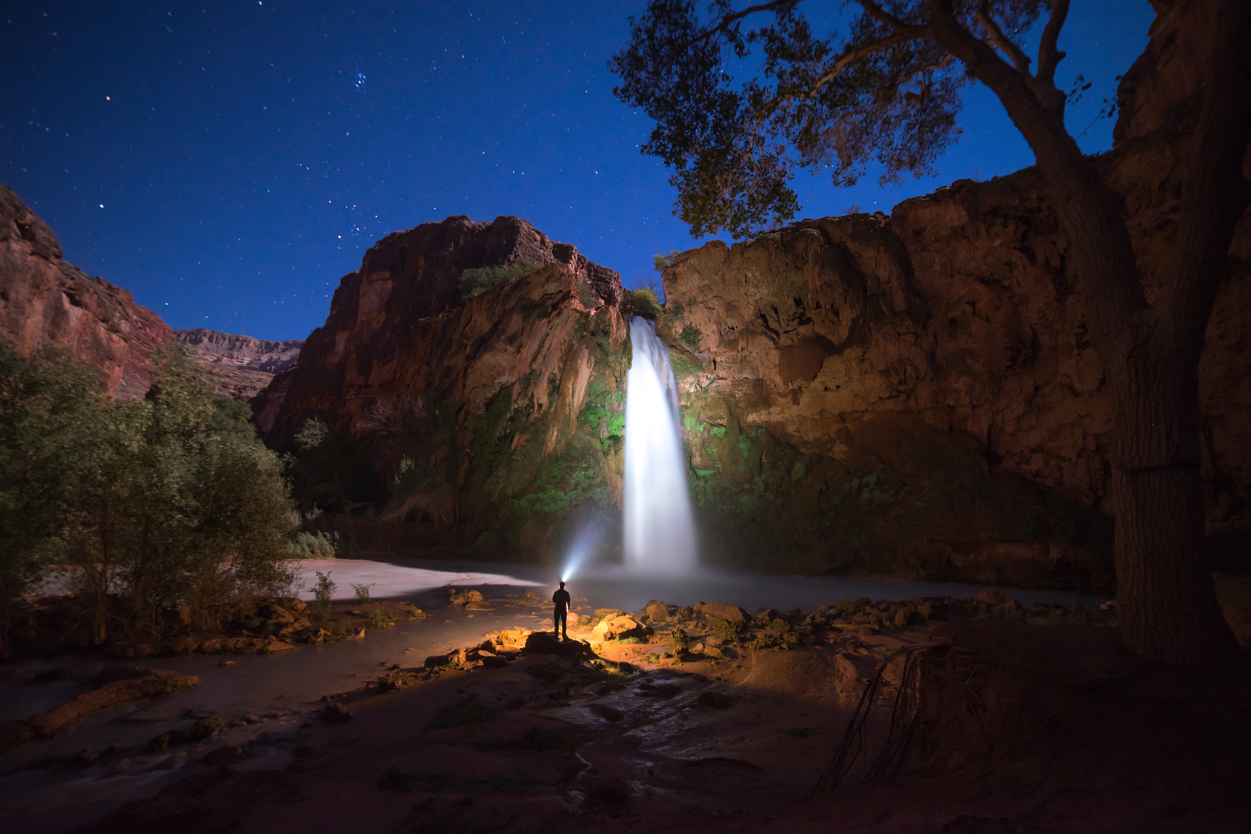 Whether it's a full moon or the Milky Way is out, you don't want to miss out on experiencing Havasupai after dark. Some of the best memories are made after the sun goes down!
