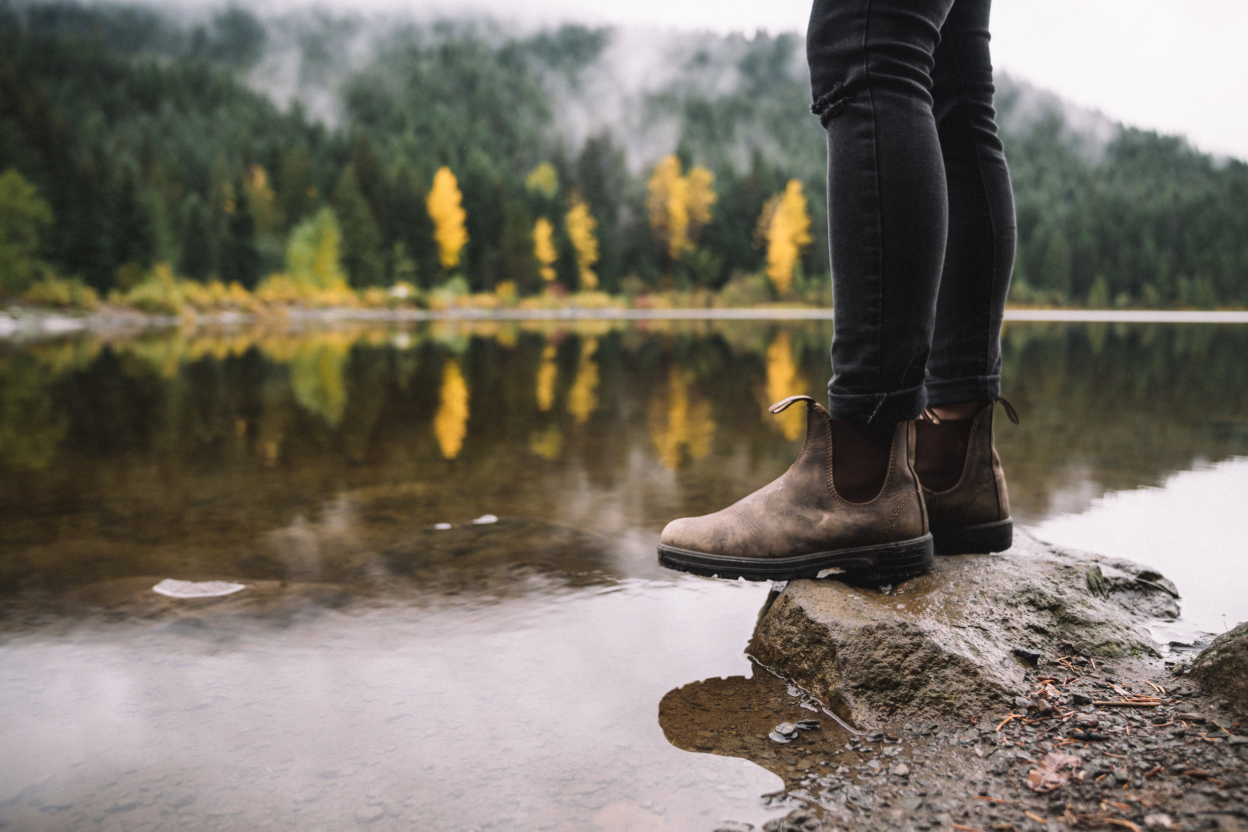 The  Blundstone BL584 boots  have the perfect mix of ruggedness for the outdoors and style for the city.