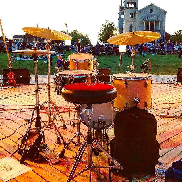 Summer vibes. 🥁😎 #parrothead #sharkfinz #bringafan #summer #hot #gig #music #drums #showtime