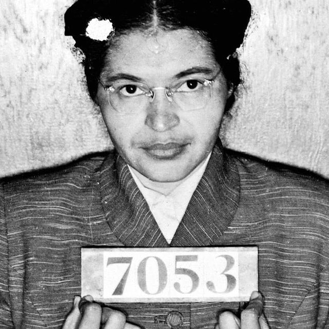 "#BornOnThisDay - Feb 4 - Rosa Parks (1913-2005) What a hero. What a bad-ass. What courage. ""When that white driver stepped back toward us, when he waved his hand and ordered us up and out of our seats, I felt a determination cover my body like a quilt on a winter night."" ❤ Forever grateful to you, Rosa - you moved the world forward. . . . #rosaparks #civilrightsmovement #civilrights #civilrightsactivist #endsexualviolence #hero #courage #badass #determination #quietstrength #blackwomanmagic #antiracism #antisegregation #nonviolence #fairhousing #equalopportunity #awesomewomen"