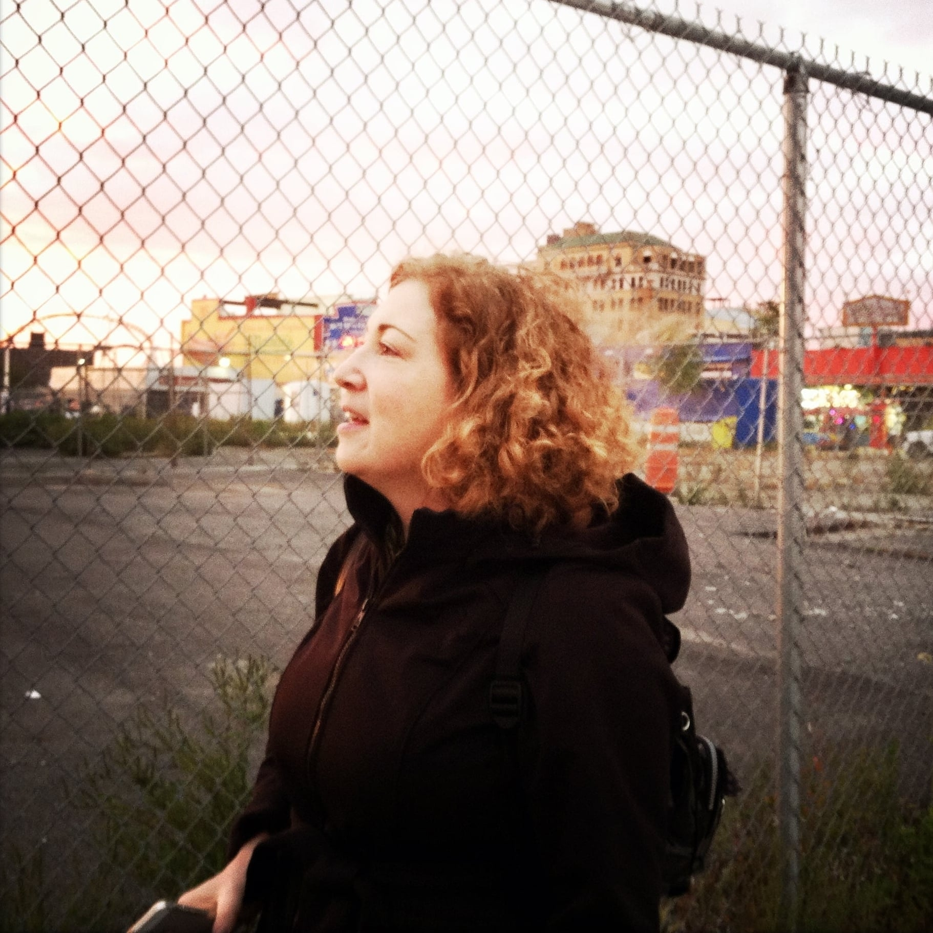 Sky-gazing, Coney Island