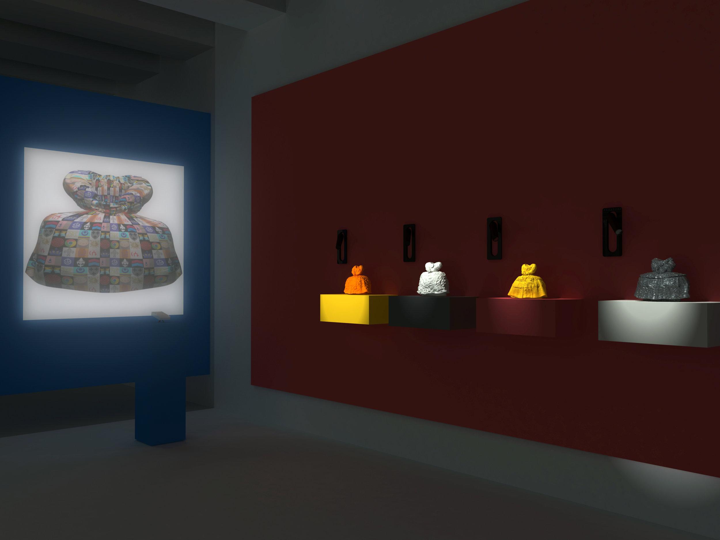 Transfer Gallery Installation Design, 2015, 3d rendering of digital model..jpg