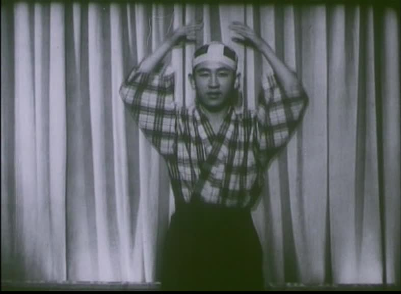 Recital of the Japanese Dancer Masamy Kuny   1:24, 1943  National Film Archive
