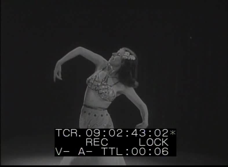 Mercedes Pavelici dances   03:23, 1944  National Film Archive