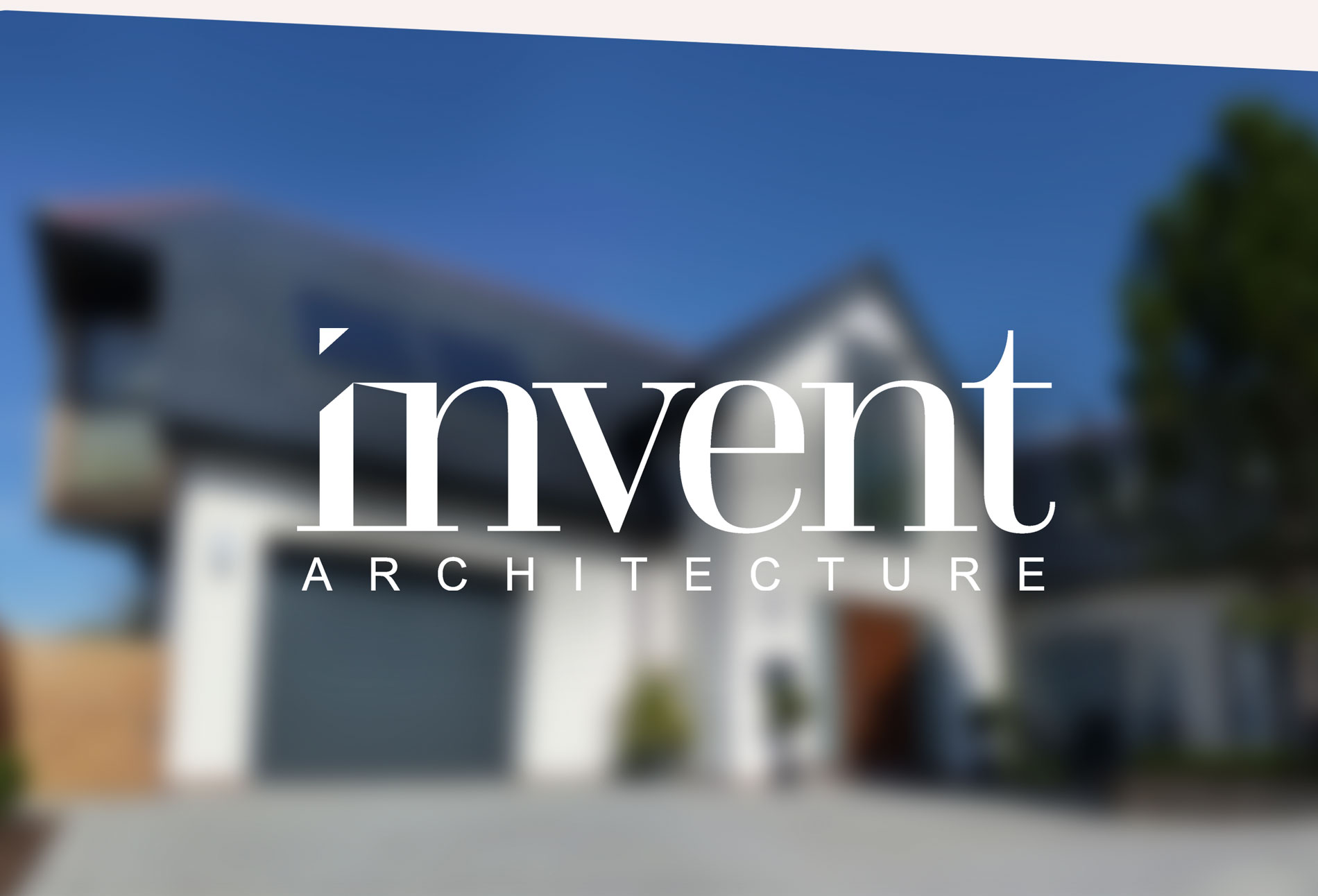 INVENT Architecture logo - design whitstable kent