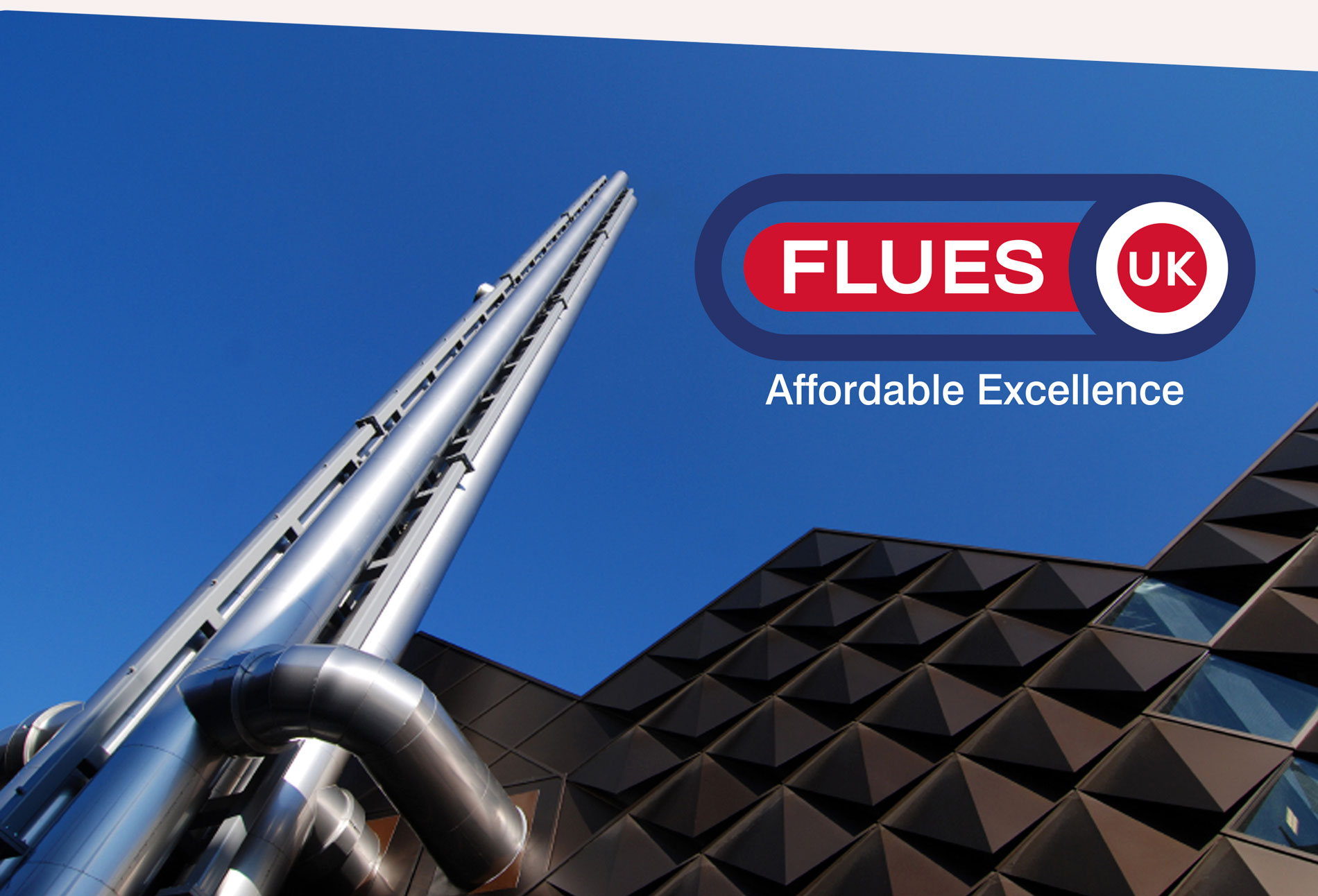 Flues UK Limited logo - design whitstable kent