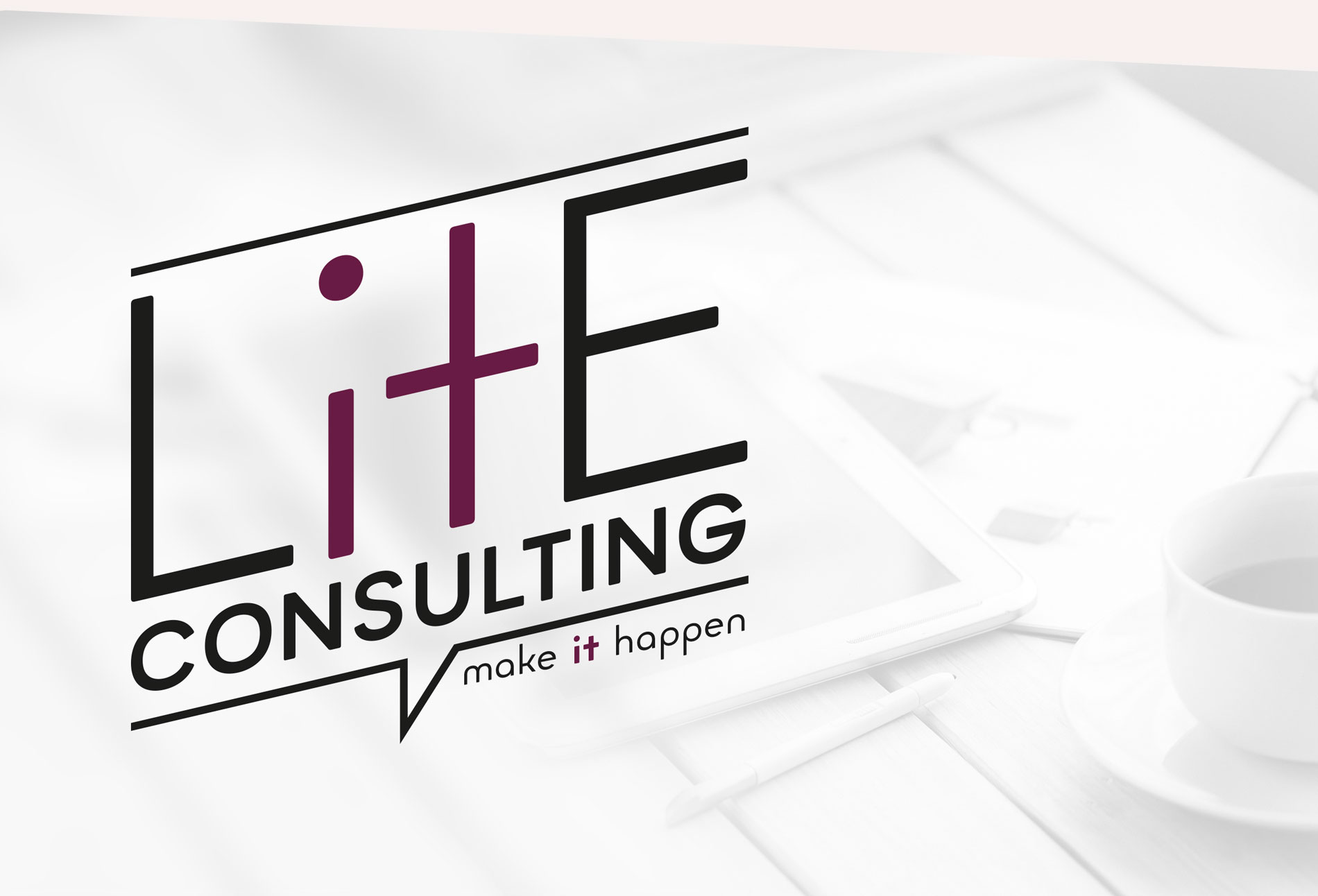 Lite Consulting logo - design whitstable kent