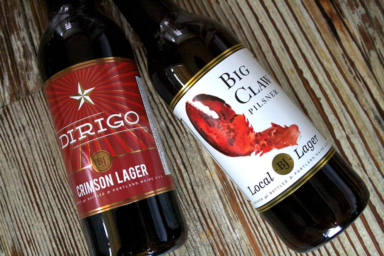 Dirigo Brewing Branding
