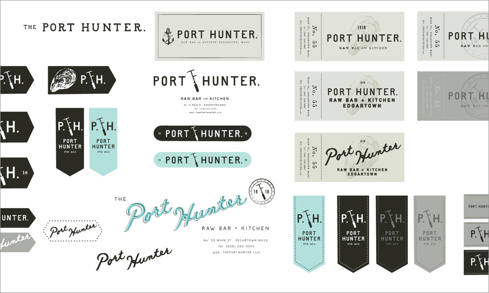 The Port Hunter Restaurant Branding