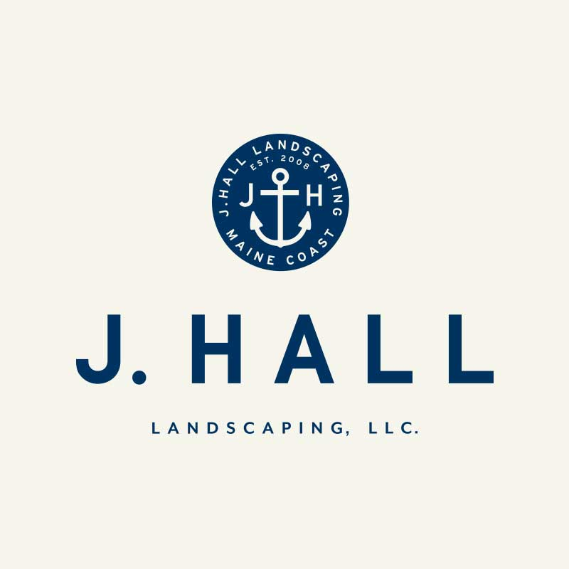 J. Hall Landscaping Logo