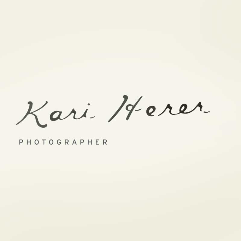 Kari Herer Photographer Logo