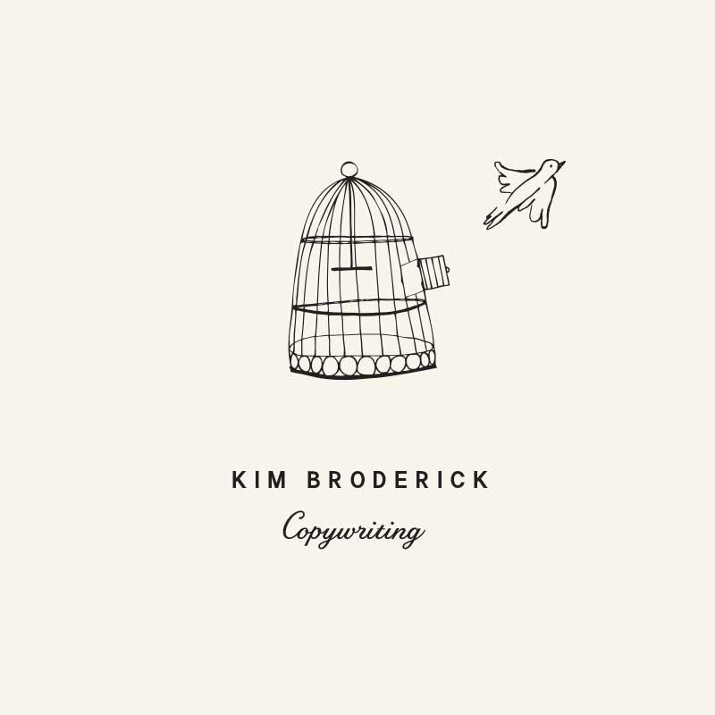 Kim Broderick Copywriting Logo
