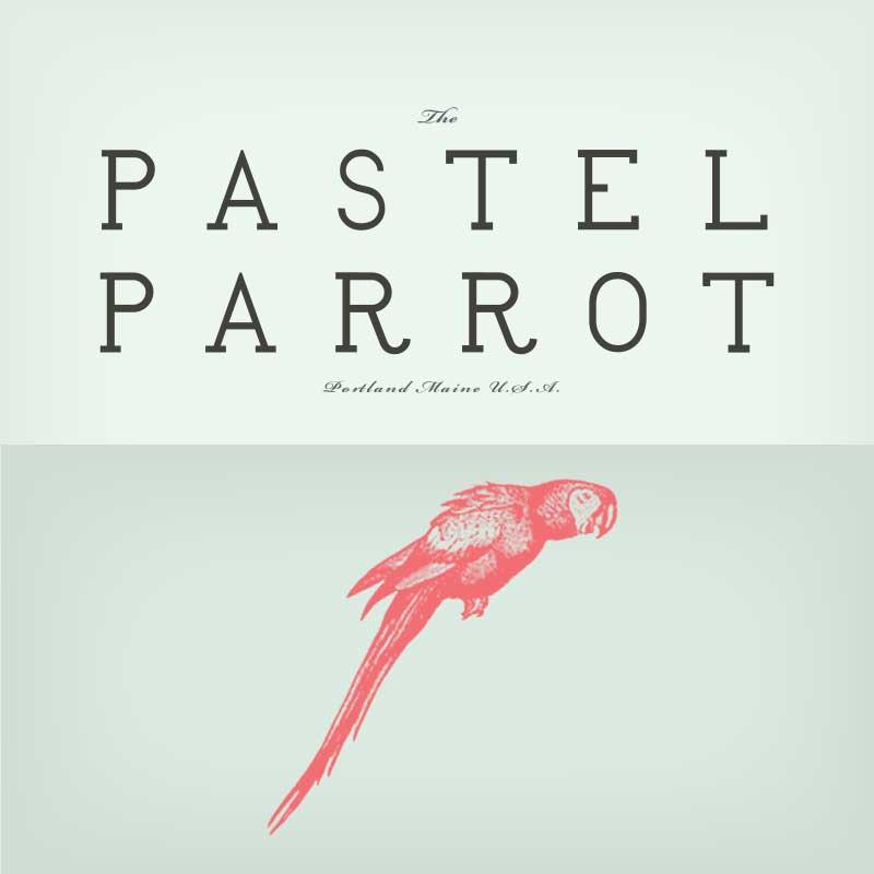 The Pastel Parrot Logo