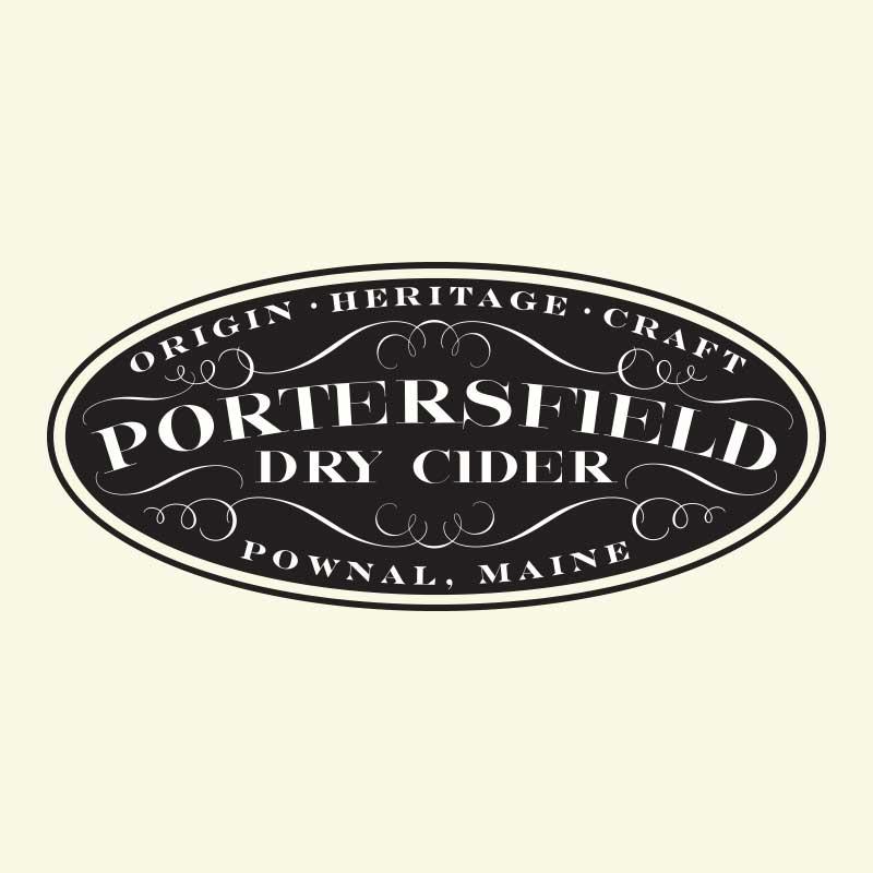 Portersfield Dry Cider Logo