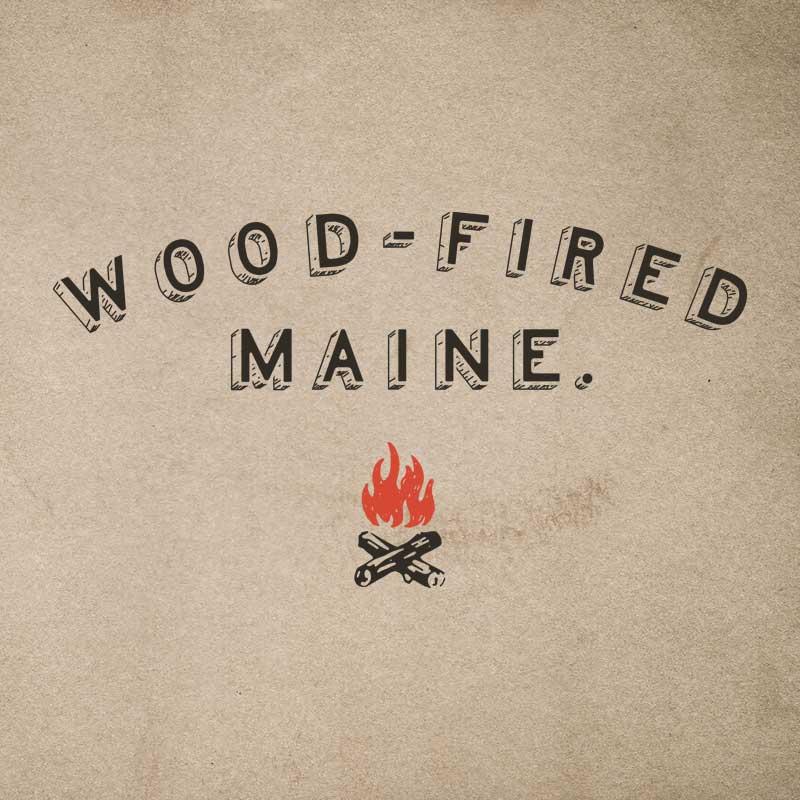 Wood-Fired Maine Logo