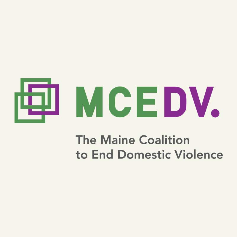Maine Coalition to End Domestic Violence Logo