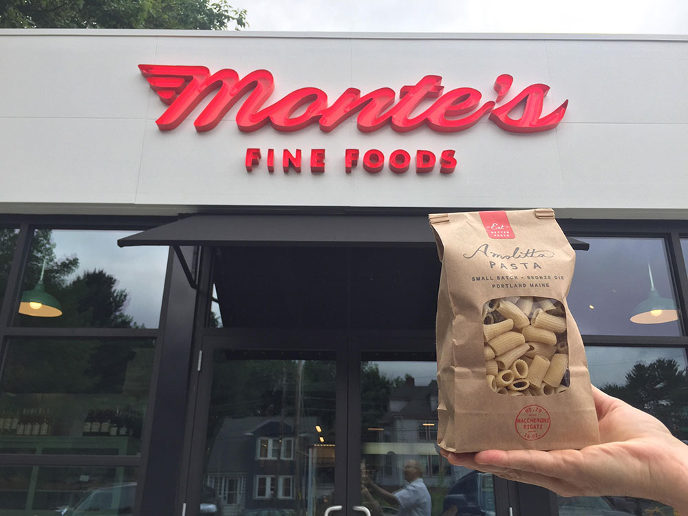 Monte's Fine Foods & Amolitta Pasta Branding and Identity