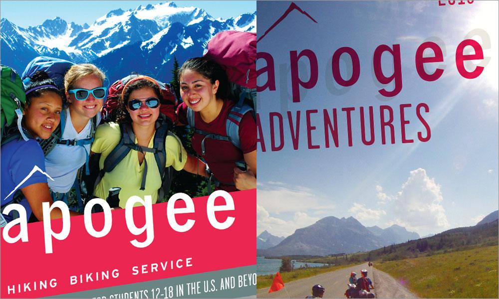 Apogee Adventures Print Branding