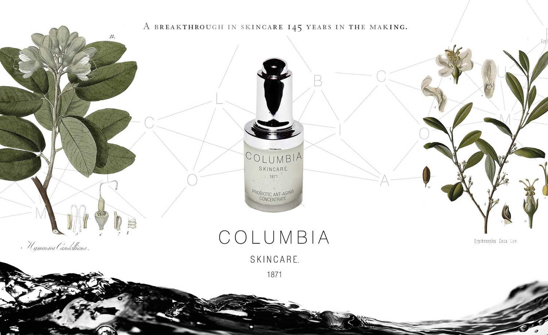 Columbia Skincare Branding