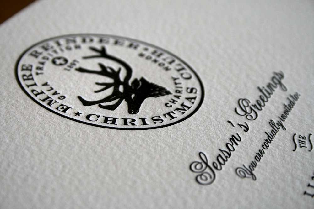 Empire Reindeer Print Branding