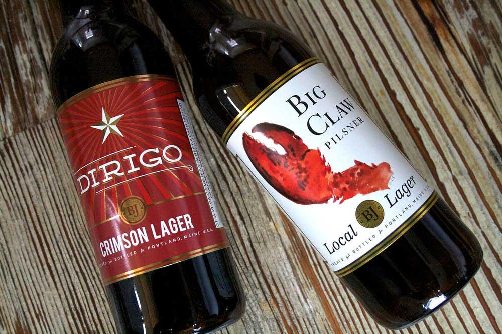 Dirigo Brewing Branding and Package Design