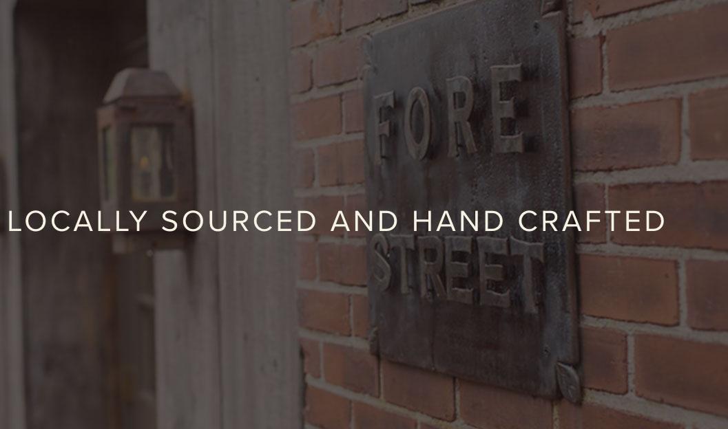 Fore Street Restaurant Branding and Website Design