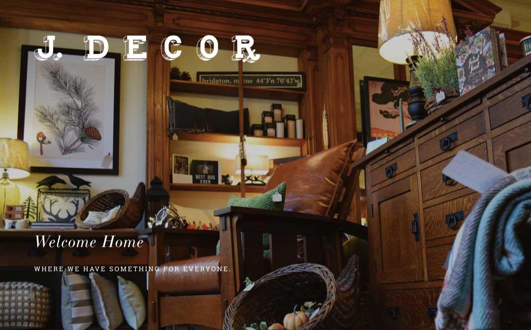 J. Decor Branding and Website Design