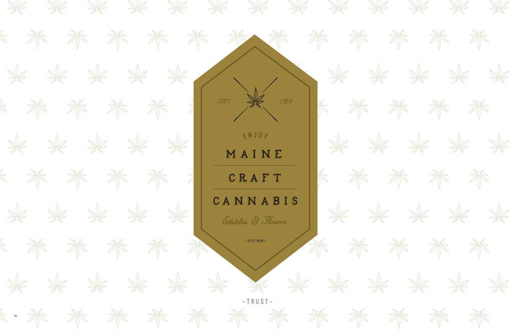 Maine Craft Cannabis Branding