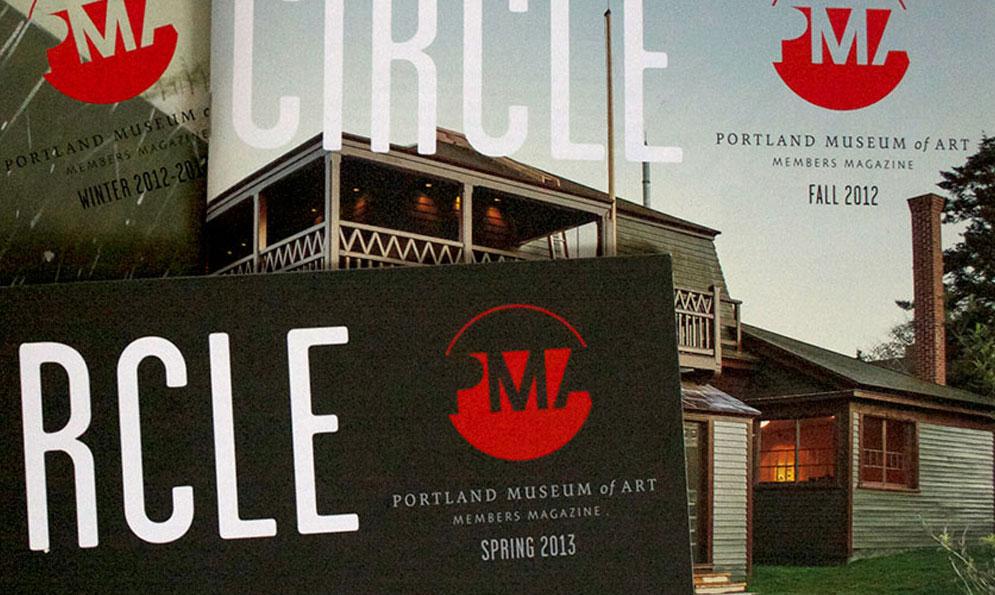 Portland Museum of Art Print Branding