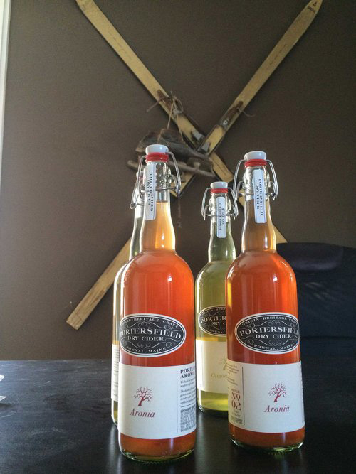 Portersfield Dry Cider Branding and Package Design