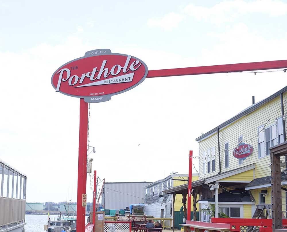 Porthole Restaurant Branding