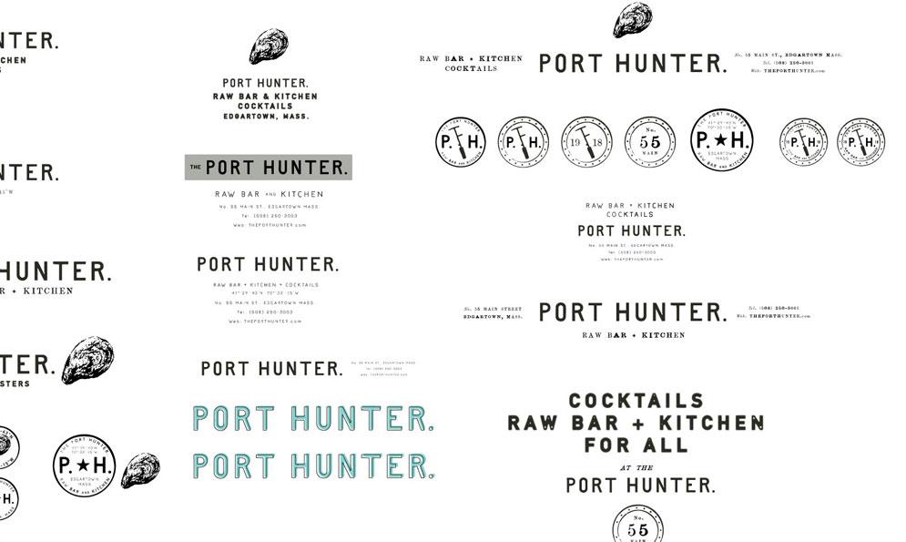 The Port Hunter Restaurant Branding and Identity Development