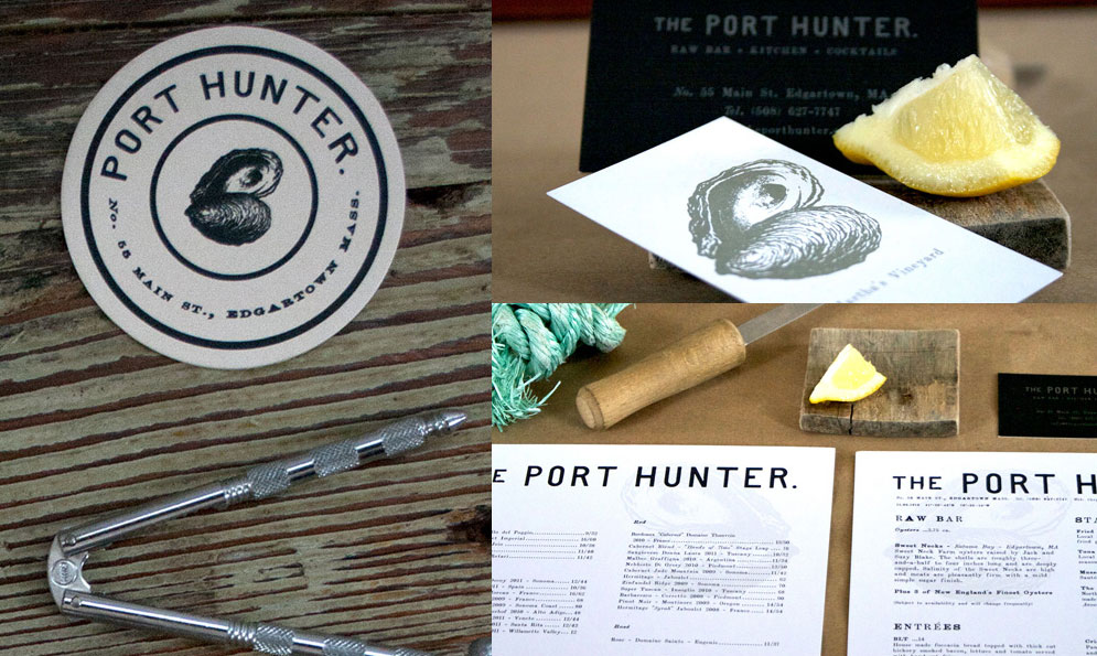 The Port Hunter Restaurant Branding