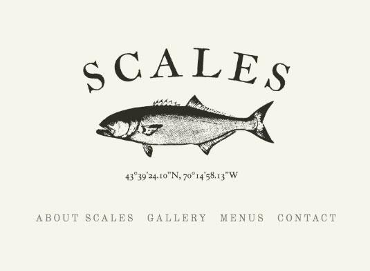 Scales Restaurant Branding and Identity